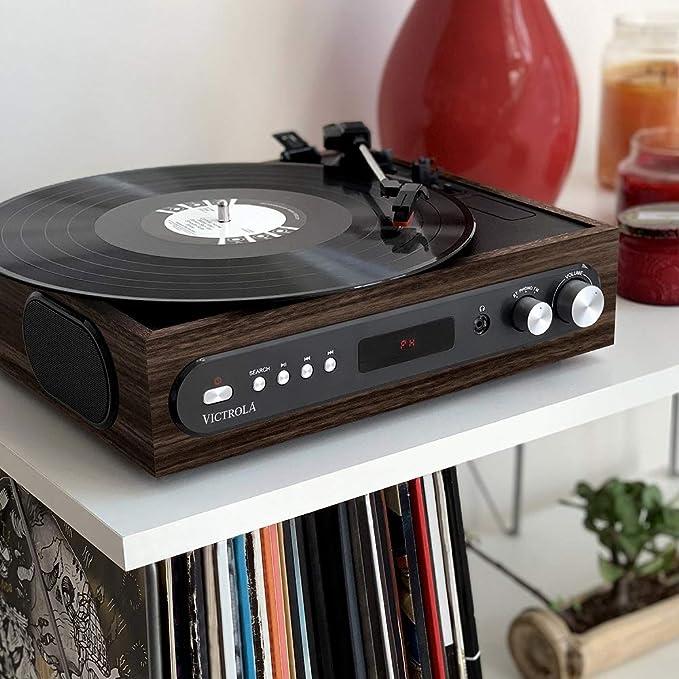 Victrola 3-in-1 Tocadiscos: Amazon.es: Instrumentos musicales