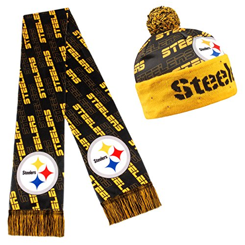 Top 10 pittsburgh steelers hat and scarf set for 2019