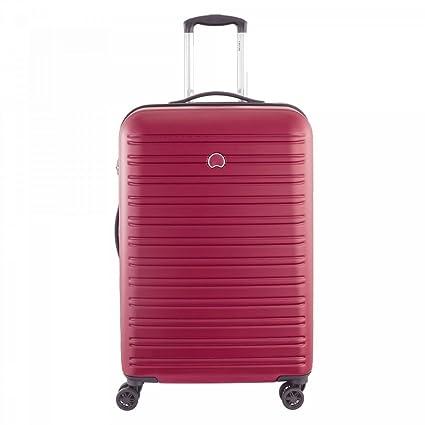 Delsey Paris Segur Maleta, Rojo (Rouge), 70 cm / 82 liters