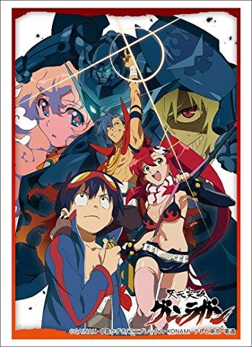 Tengen Toppa Gurren Lagann Trading Card Game Character Sleeve Anime Vol 1437 by Bushiroad