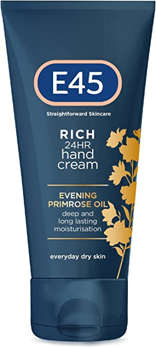 Details about E45 Straightforward Skincare Rich 24HR Hand Cream 50ml For Dry & Sensitive Skin