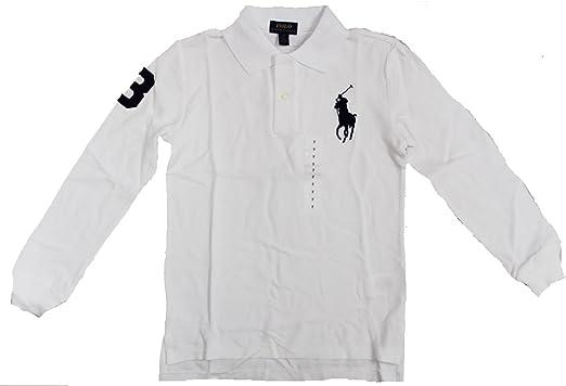 Polo RALPH LAUREN Boys long sleeve Polo shirt  1 polo shirt BIG PONY