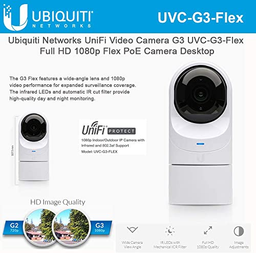 Ubiquiti UniFi Video Camera G3 Flex UVC-G3-Flex Full HD 1080p Network Camera
