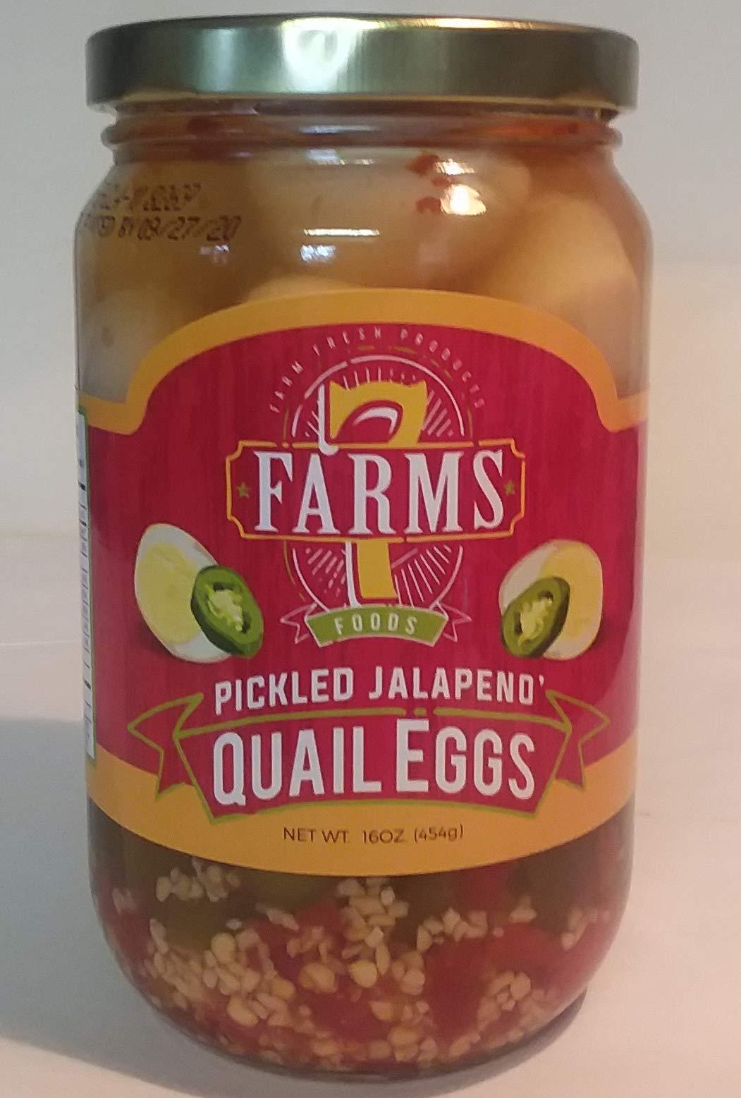 Jalapeno Pickled Eggs 16 oz Glass Jar