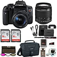 Canon Rebel T6i DSLR Camera w/18-55mm lens + Promotional Holiday Bundle