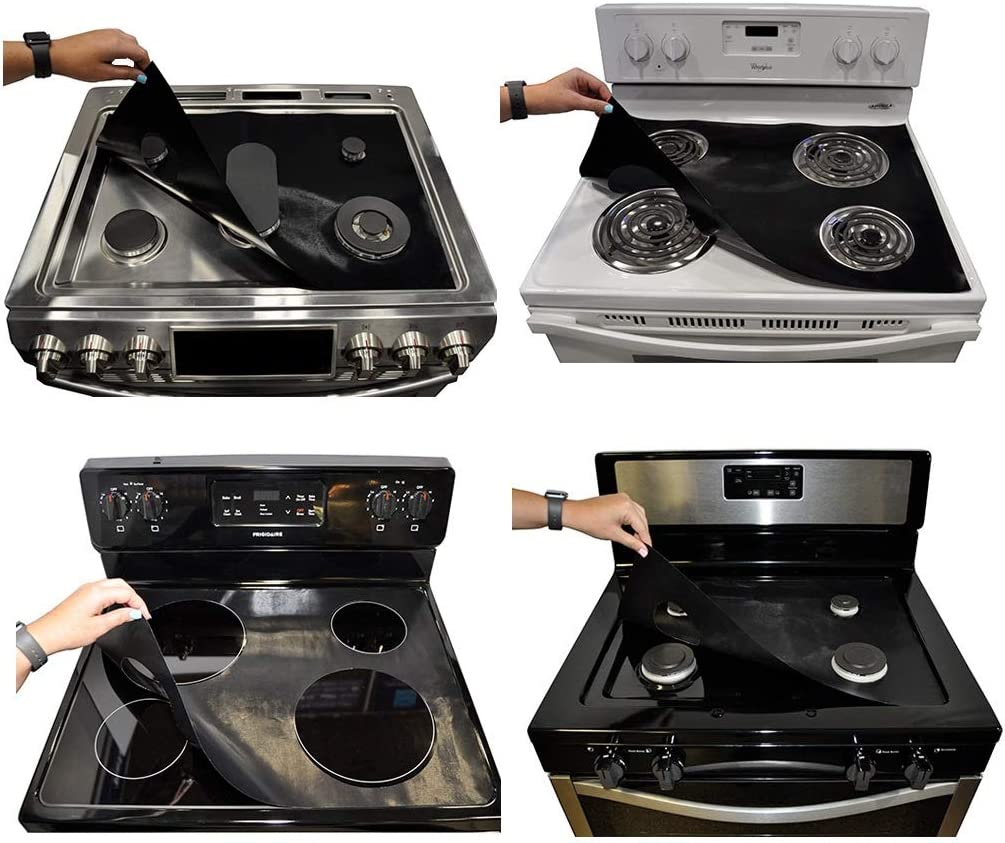 Stove Wrap Do It Yourself Stove Top Protector Splatter Guard Value Pack Kit