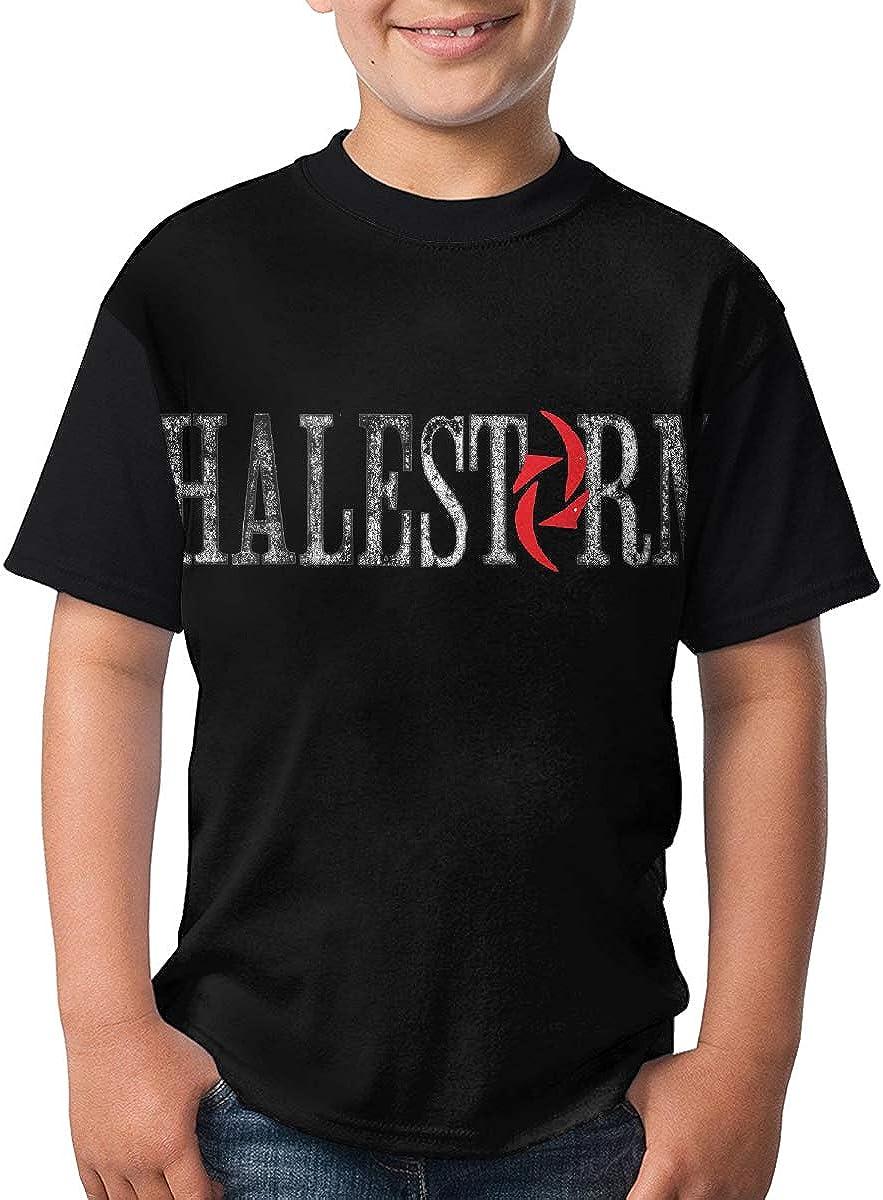 WangSiwe Halestorm Vicious Boys Summer 3D Printing Short Sleeve T-Shirt