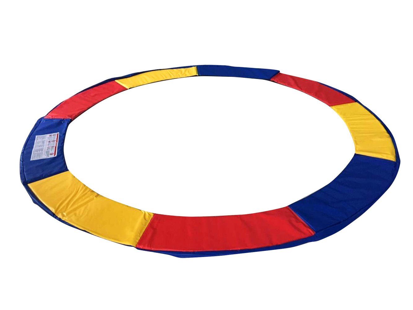 Exacme Trampoline Replacement Safety Pad Frame Spring 10-16FT Colors Round Cover (10 FT) by Exacme (Image #1)