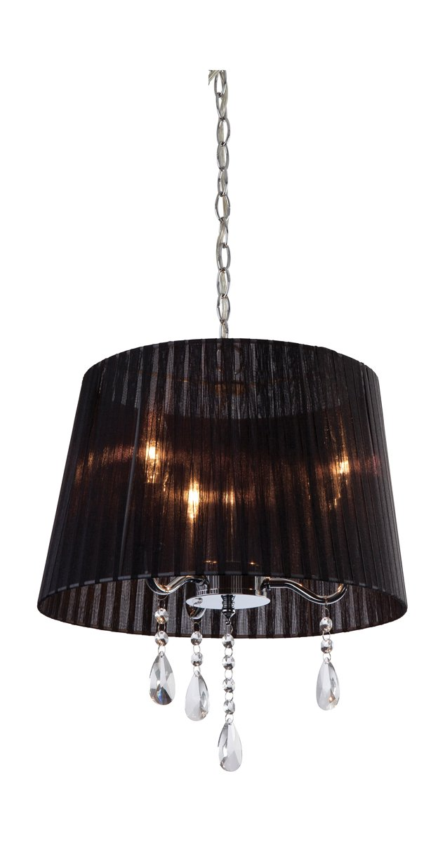 Firstlight - Lámpara de techo (pantalla de organza, 3 ...