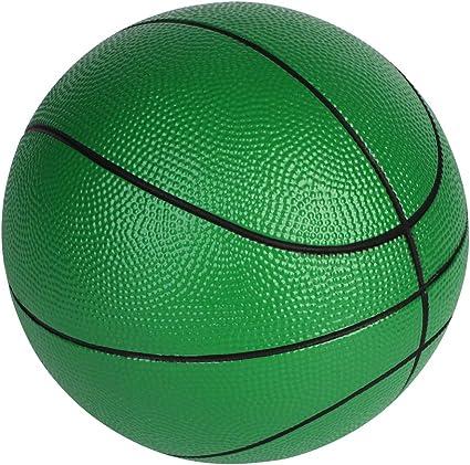 Balón de baloncesto de espuma BORPEIN de 7 pulgadas con bolsa de ...