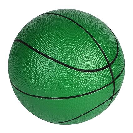 BORPEIN Balón de Baloncesto de Espuma 7 Pulgadas con Bolsa ...