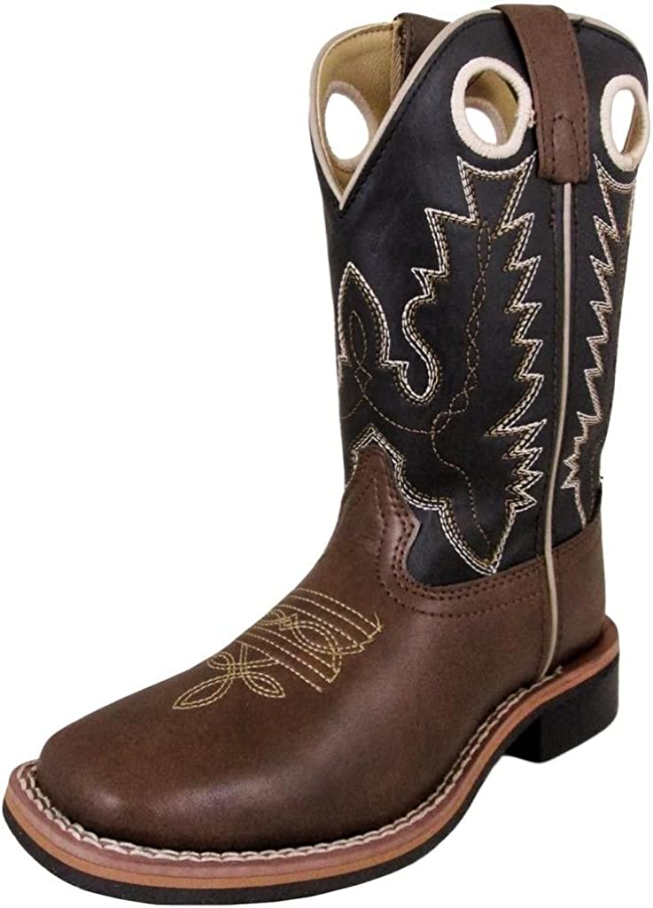 SALENEW very popular! Smoky Mountain Boots Cheap mail order sales Blaze Series Squar Western Youth Boot