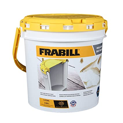 Image result for Frabill Insulated Bait Bucket w/Aerator