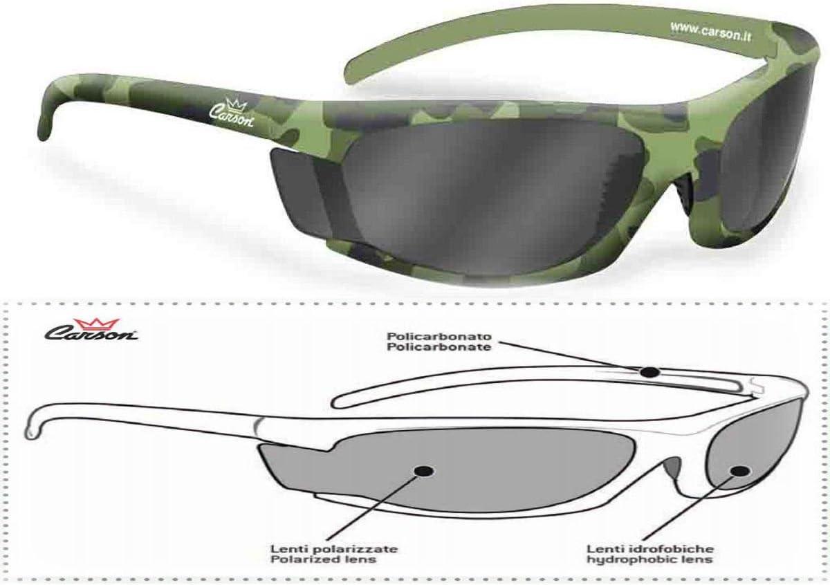 Avvolgente Sport Pesca Caccia Militare Occhiali da Sole Polarizzati Camouflage
