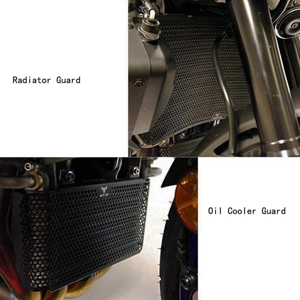 Black MT10 Motorcycle Radiator Grille Guard Protector Cover /& Oil Guard Kit for Yamaha MT-10 MT10 MT 10 2017 2018 2019 MT-10 MT10 MT 10 SP 2016-2019