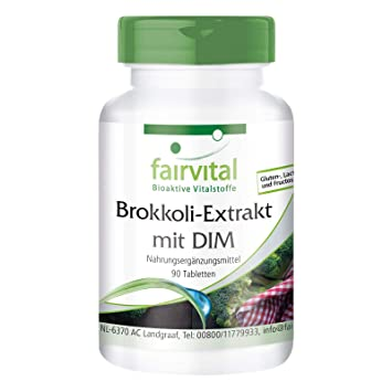 Extracto de Brócoli DIM y el sulforafano - VEGANO ...
