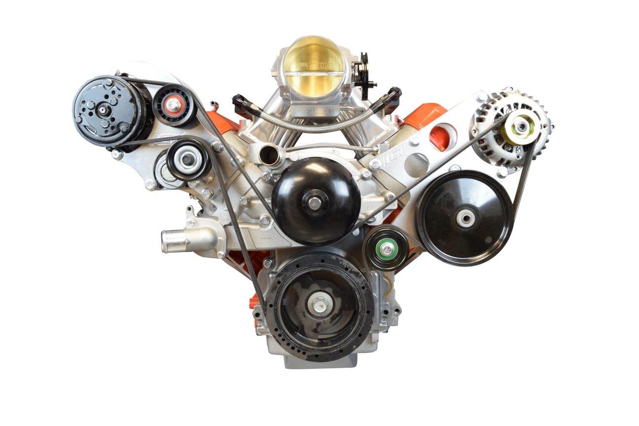 Sanden 508 LS1 Corvette a/c aire acondicionado Compresor Kit de soporte LS LSX ca: Amazon.es: Coche y moto