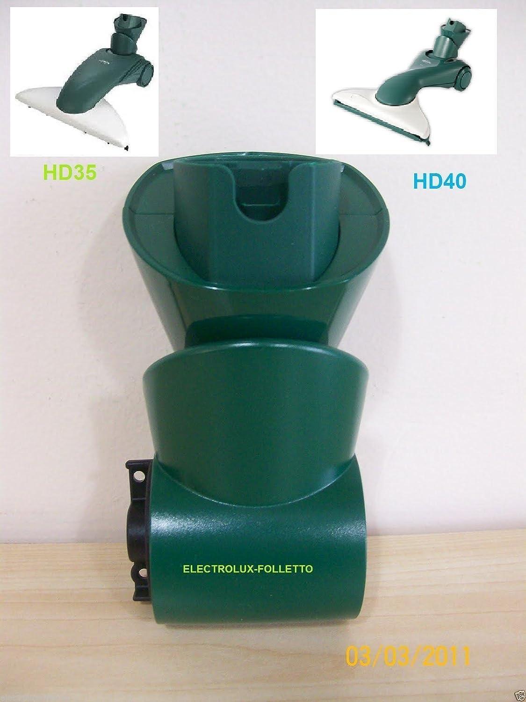 DLS Bajo Cepillo con cerdas para HD 35/folletto VK 135/136 peque/ño Color Blanco