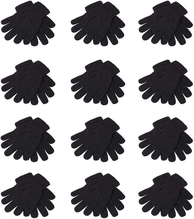 12 PAIRS OF MAGIC GLOVES - ONE SIZE FITS ALL: Toys & Games