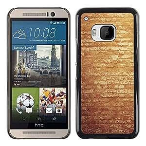 All Phone Most Case / Oferta Especial Duro Teléfono Inteligente PC Cáscara Funda Cubierta de proteccion Caso / Hard Case HTC One M9 // Vintage Brick Wall