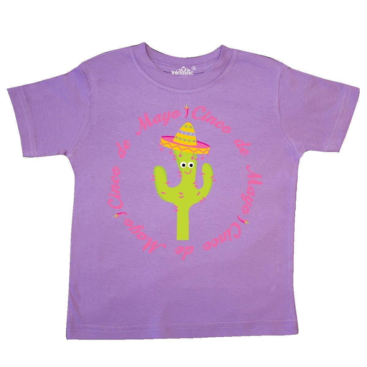 inktastic Cactus Cinco De Mayo Toddler T-Shirt