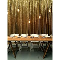 20FTX10FT Gold SEQUIN PHOTO BACKDROP, Select Your Size,Wedding Photo Booth,Photography Background,Ceremony Background