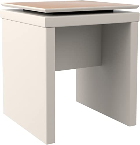 Manhattan Comfort Lincoln Collection Contemporary Accent Square Shaped Living Room End Table