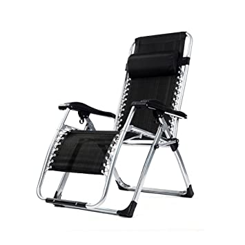 Camping bel sol Alu silla plegable silla de camping acolchado Dark Silver