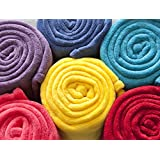 Linen Avenue Bliss Queen/Full Coral Micro Plush Blanket