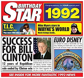 1992 Birthday Presents - 1992 ...