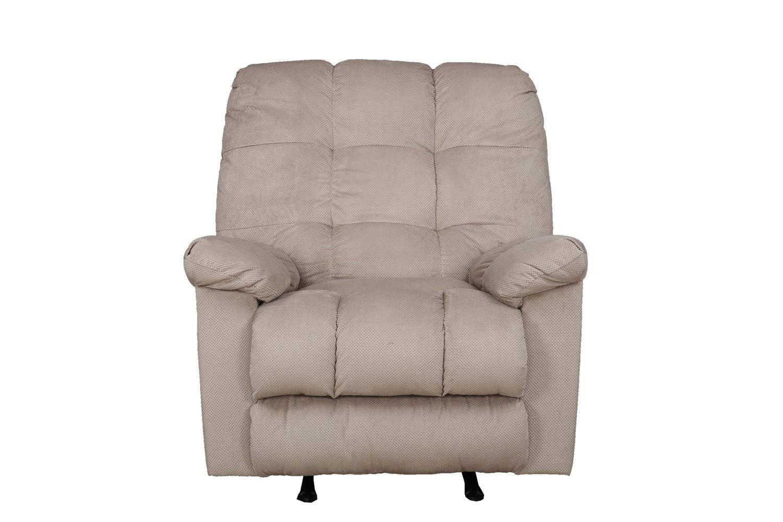 HomeTown Pine Elliot Fabric Recliner (Grey, Standard Size)