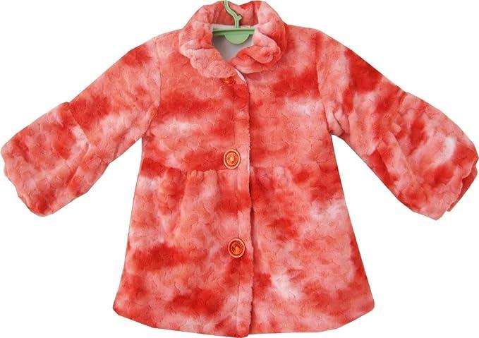 SUNNY Fashion Niñas abrigo rojo Faux forro forro - Chaqueta rojo 3 años: Amazon.es: Ropa y accesorios