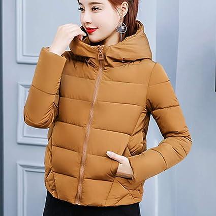 Yvelands Invierno Mujer Abrigo Cálido Faux Fur con Capucha Gruesa Outwear Chaqueta Delgada Corto Abrigo Top Blusa: Amazon.es: Ropa y accesorios