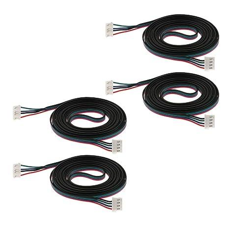 KESOTO 4pcs XH2.54 2m Impresora 3D Cable De Pisadas para ...