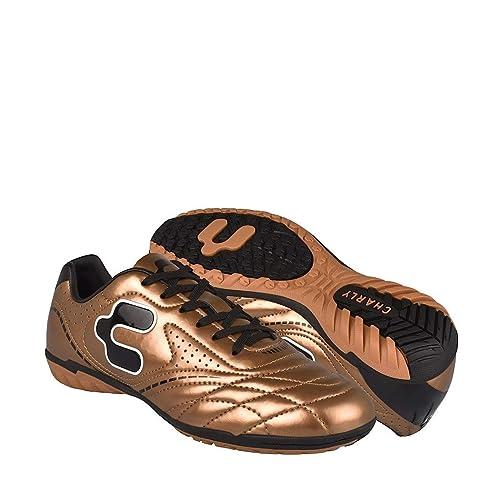 CHARLY Tenis DE Futbol 1022384 SIMIPIEL Oro 22-24 24.5  Amazon.com ... 02151db5ea6e7