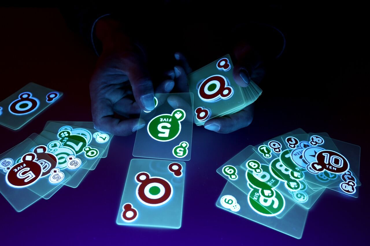 Glow In The Dark Playing Cards made our CampingForFoodies hand-selected list of 100+ Camping Stocking Stuffers For RV And Tent Campers!