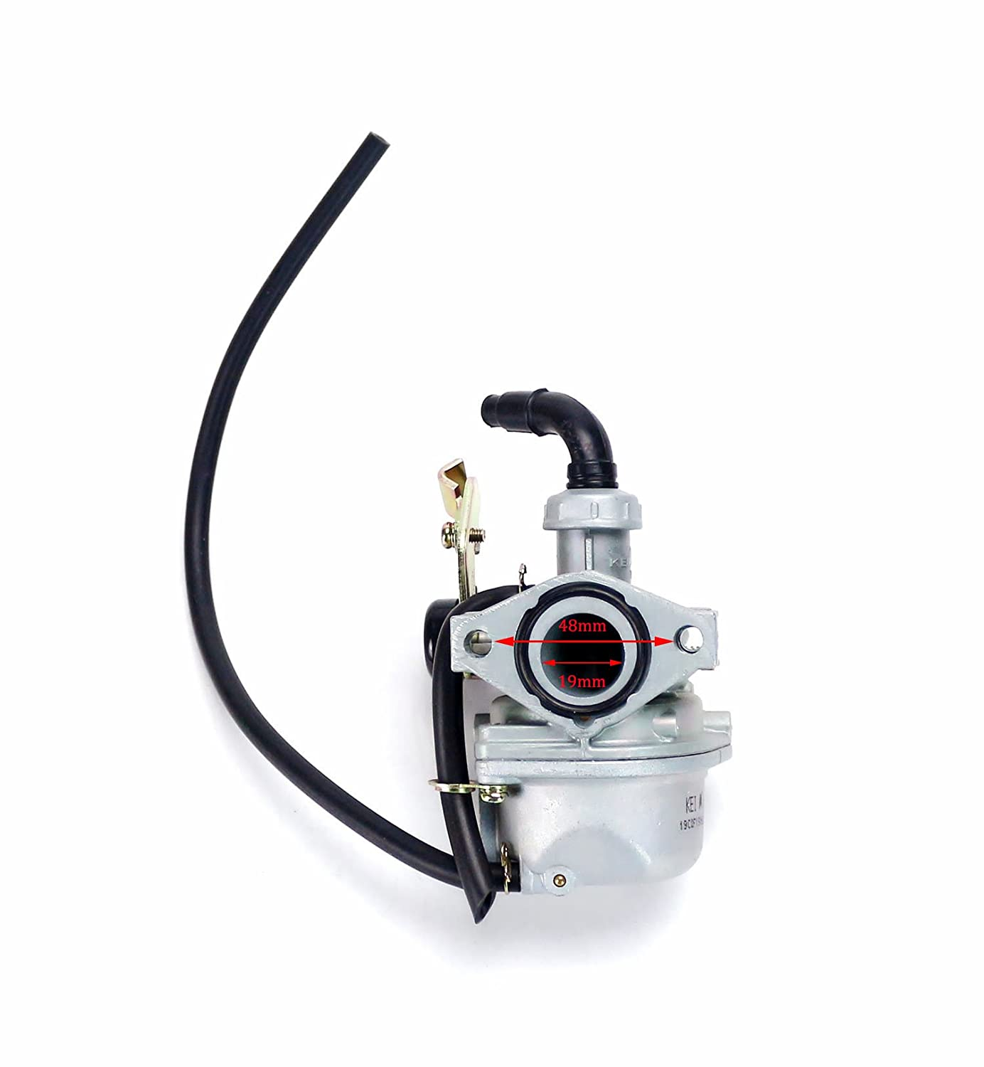 Motorcycle Cable Choke PZ19 19MM Carb Carburetor For 70cc 90cc 110cc Dirt bike (KEIHIN, PZ 19) SUCAN KNC-170407-01