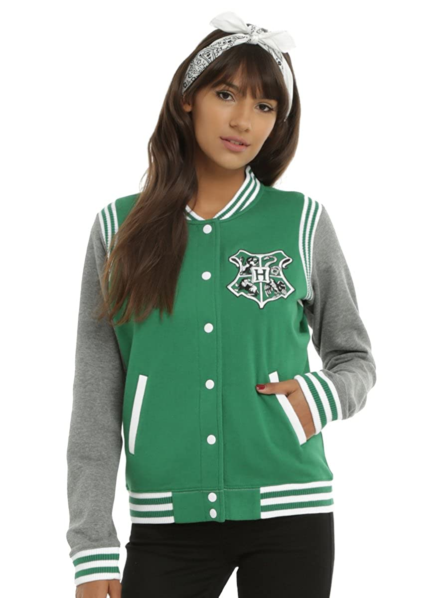 Harry Potter Slytherin Juniors Varsity Jacket