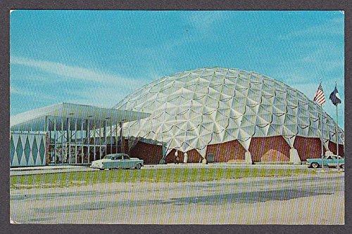 Aluminum Domed Convention Center Virginia Beach VA postcard - Domed Center