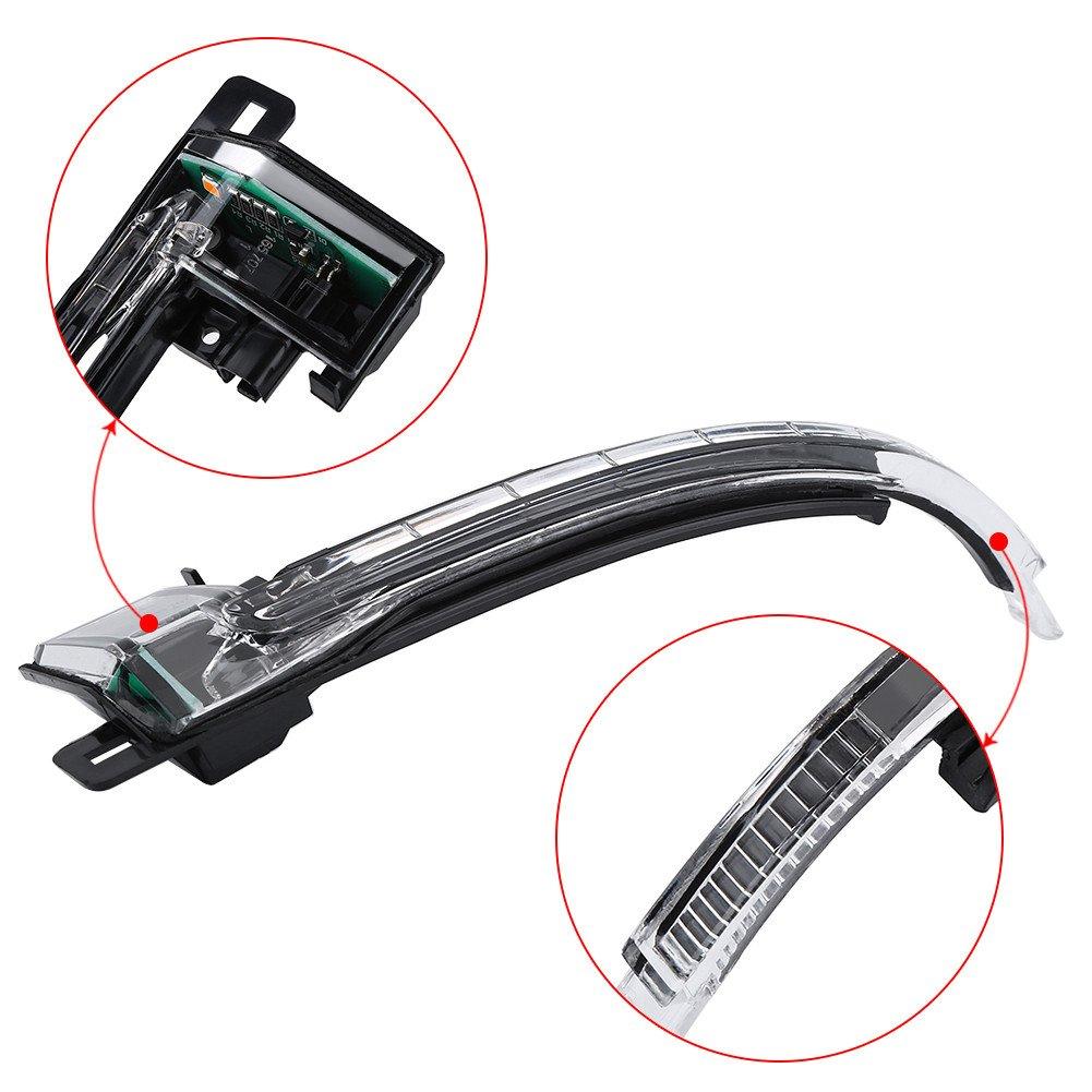 clignotant pour clignotant droit pour A3 A4 A5 S5 8K0 949 102 Aramox Clignotant pour r/étroviseur ext/érieur