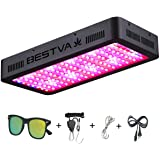 BESTVA 1200W LED Grow Light Full Spectrum Grow Lamp with IR&UV for Greenhouse Hydroponic Indoor Plants Veg and Flower