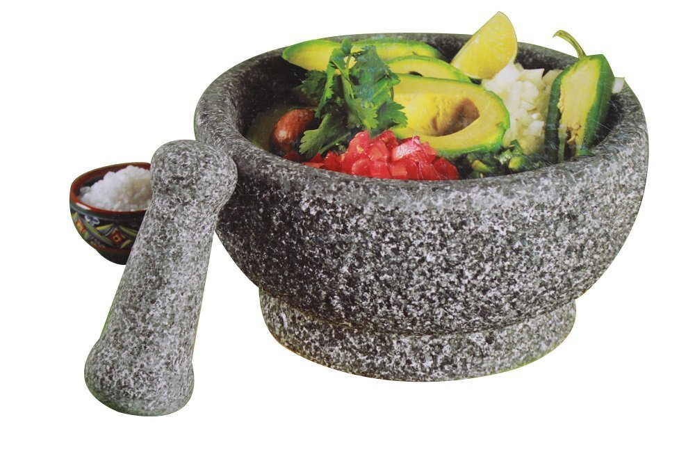 Casa Maria Natural Stone Mortar and Pestle - 8.5 inch by