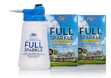 full sparkle window cleaner all purpose kit