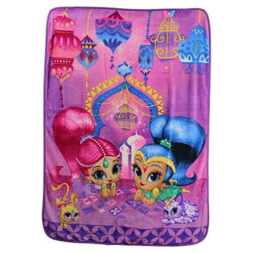Northwest Fleece Soft Blanket (Kid's Colorful Character Micro Raschel Throw Blanket 46