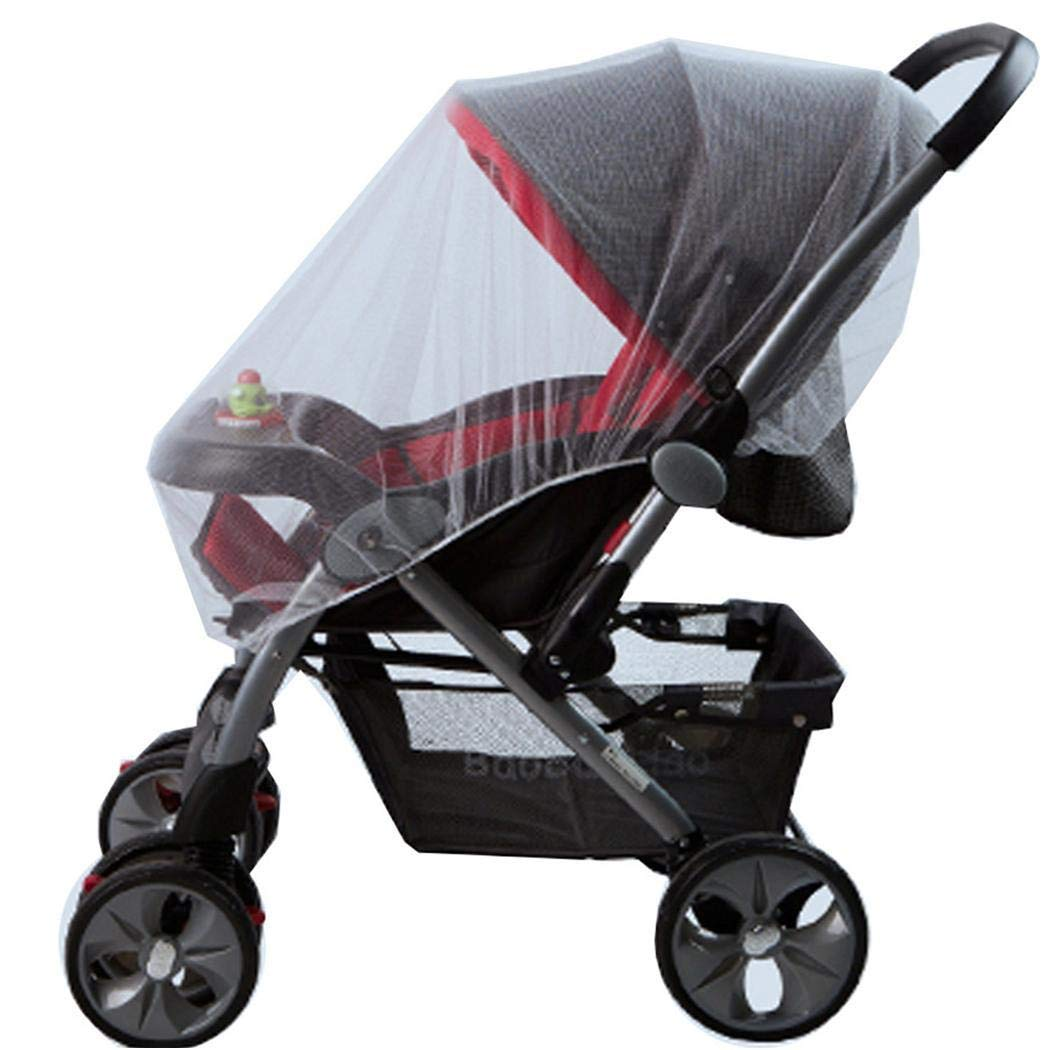 Weardear Baby Stroller Mosquito Net Ultra-Thin Breathable Fully Covered Infant Cart Net Crib Netting