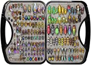 Trout Fly Fishing Flies Collection 194/180/120/110/69/60 Premium Flies Dry Wet Nymph Streamers Fly Assortment