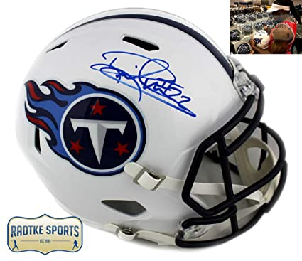 Derrick Henry Autographed Signed Tennessee Titans Riddell Full Size NFL  White Throwback Speed Helmet 7f9a2b8ec