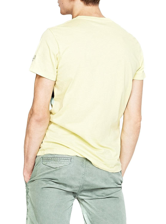 Pepe Jeans Camiseta Ghemon Amarillo QBnd4B2mt