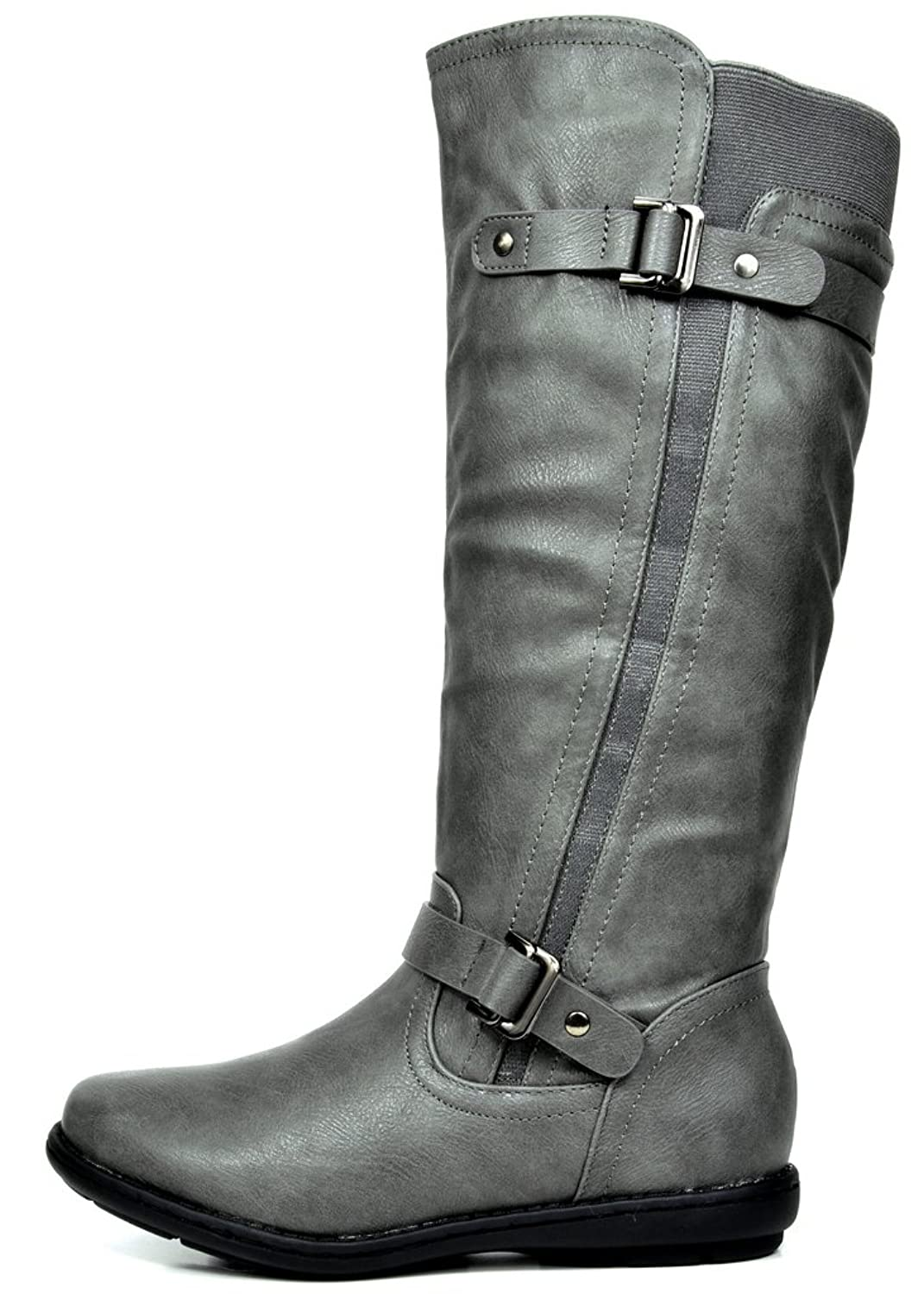 e68f1d31400 ... DREAM PAIRS Women s Faux Fur-Lined Knee High Winter Winter Winter Boots  (Wide- ...