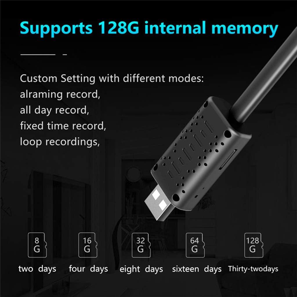 sin WiFi Shiwaki U21 C/ámara De Red Inteligente De Alta Definici/ón De 360 Grados USB HD